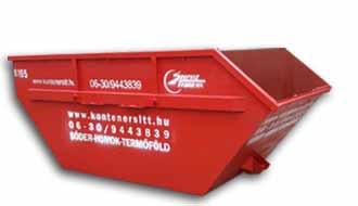 5 m3 konténer | Konténer rendelés, konténeres sittszállítás