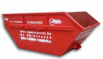 7 m3 konténer | Konténer rendelés, konténeres sittszállítás